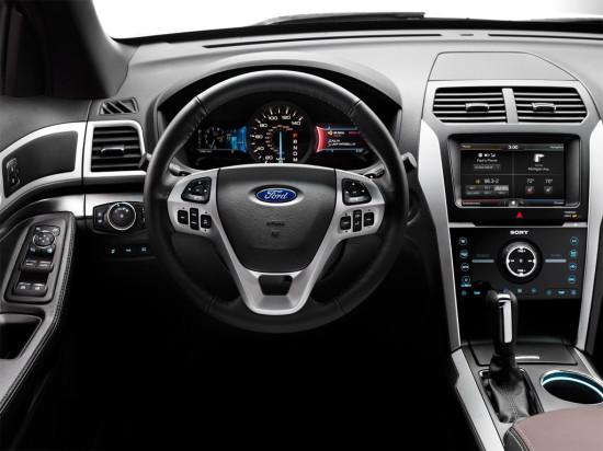 панель приборов Ford Explorer Sport