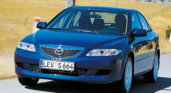Mazda 6 (GG 2002-2007) на IronHorse.ru ©