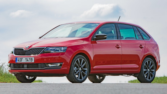 Skoda Rapid Spaceback 2017-2018