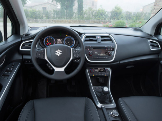 интерьер салона Suzuki SX4 II поколения