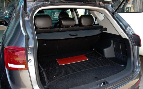 багажное отделение JAC S5