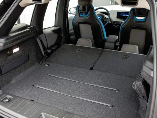 багажный отсек BMW i3