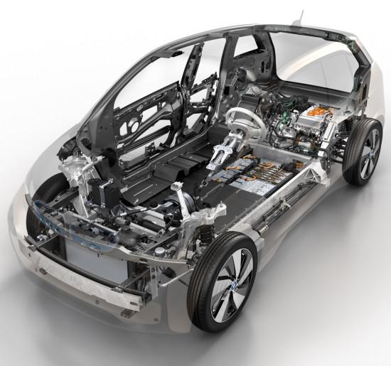 конструктивная схема BMW i3
