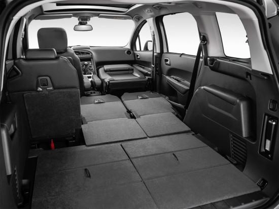багажный отсек Peugeot 5008 FL (1-е поколение)