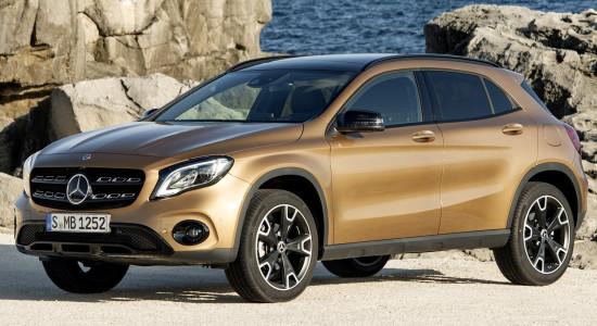 Mercedes-Benz GLA (2013-2020) на IronHorse.ru ©