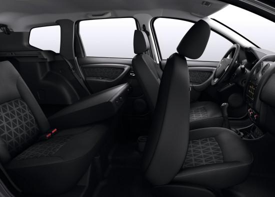 интерьер салона Dacia Duster 1