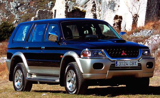 митсубиси паджеро спорт 1999г