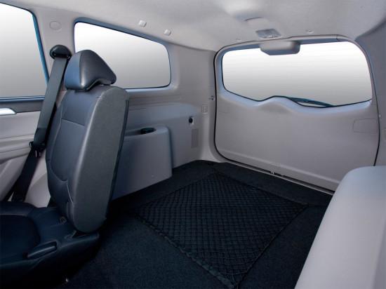 в салоне Mitsubishi Pajero Sport II