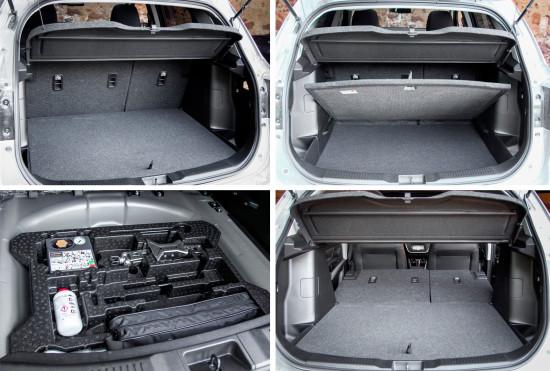 багажное отделение Suzuki SX4 (S-Cross)
