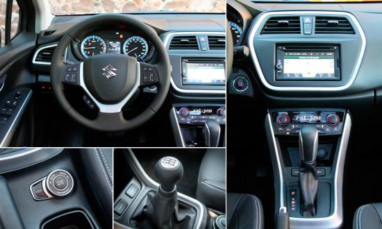 интерьер салона Suzuki New SX4
