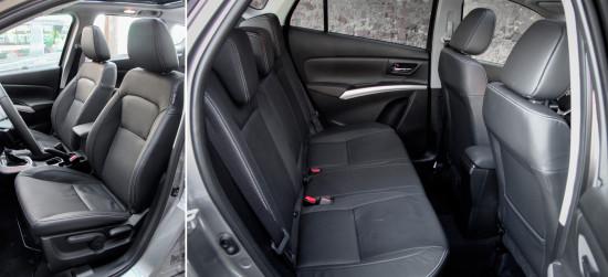 сиденья в Suzuki New SX4