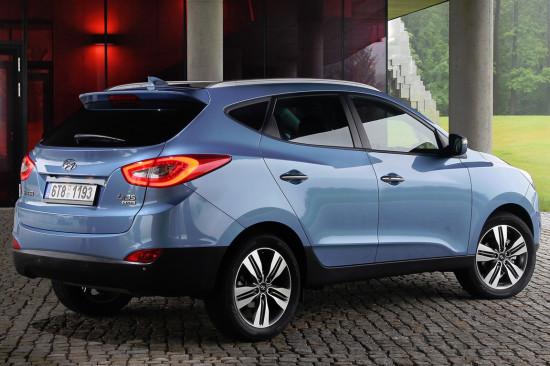 Hyundai ix 35 (вид сзади)