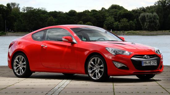 Hyundai Genesis Coupe 2013-2016