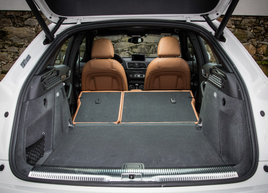 багажное отделение Ауди Q3 8U