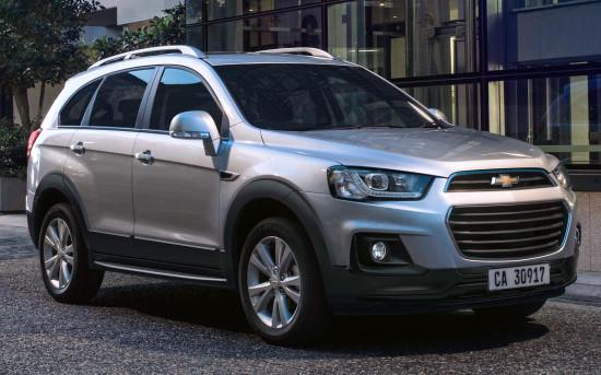 Chevrolet Captiva 2015-2018