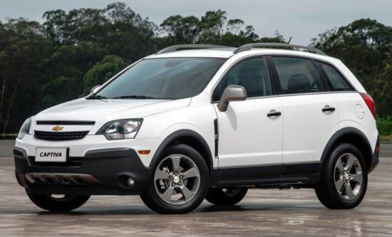 Chevrolet Captiva FL (версия для рынков Южной Америки)