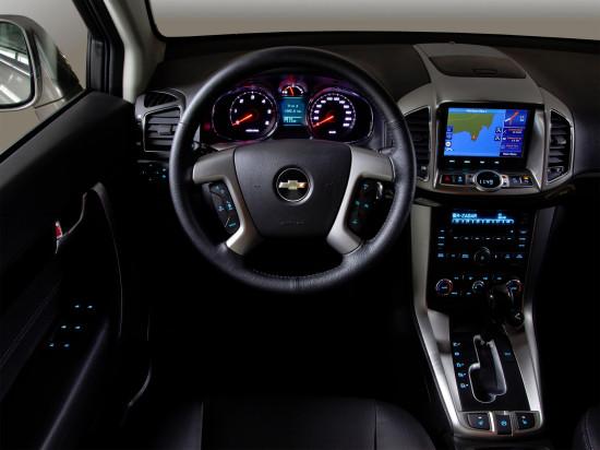 интерьер салона Chevrolet Captiva FL
