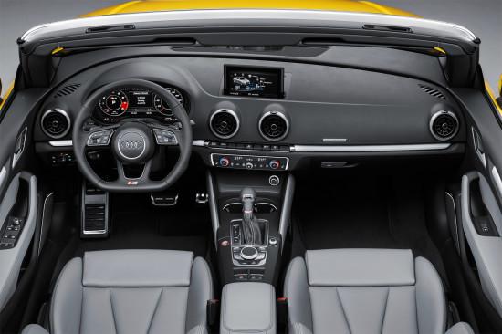 интерьер салона Audi S3 Cabriolet 8V