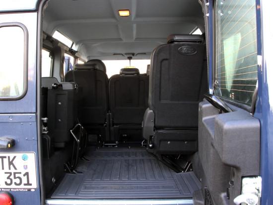 багажник Дефендера 110