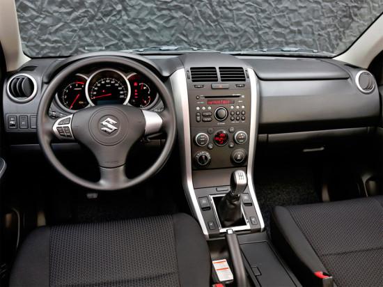 интерьер Suzuki Grand Vitara 3D