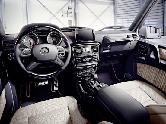 интерьер Mercedes-Benz G W463 2015 года