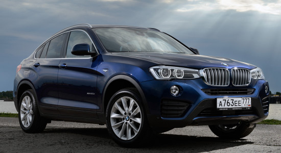 BMW X4 (2017-2018) на IronHorse.ru ©