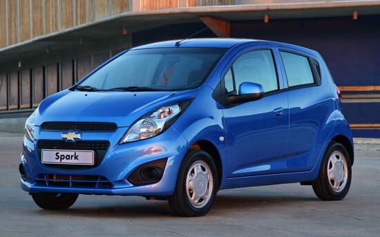 Chevrolet Spark 2020 в России