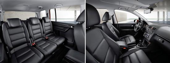 интерьер салона VW Touran 1 (2010-2015)