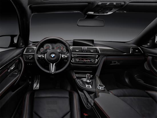 интерьер салона BMW M4 Coupe (F82)
