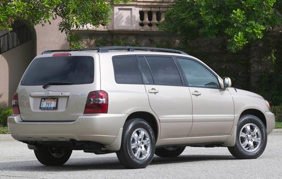 Toyota Highlander I XU20
