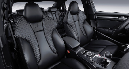 интерьер салона Audi S3 Sedan 8V (передние кресла)