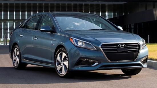 Hyundai Sonata (LF) Plug-In Hybrid