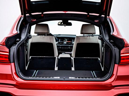 BMW X4 багажник