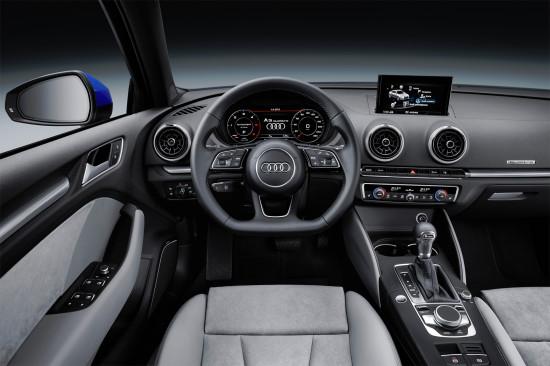 приборная панель и центральная консоль Audi A3 Sedan 8V