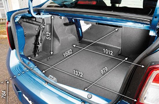 багажное отделение Renault Logan 2