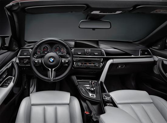 интерьер салона BMW M4 Cabrio (F83)