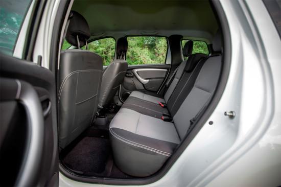 задние сиденья Renault Duster