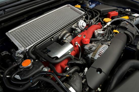 под капотом Subaru WRX STI 4