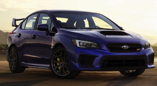 Subaru WRX STI (2020-2021) на IronHorse.ru ©