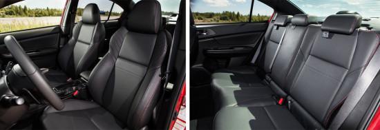 интерьер салона Subaru WRX 4