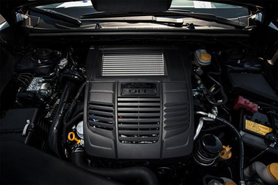 под капотом Subaru WRX 4