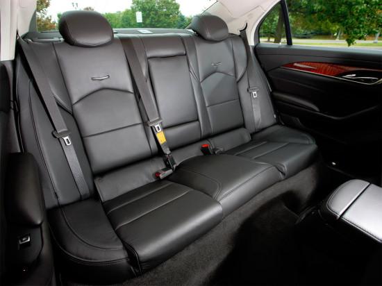 места пассажиров в Cadillac CTS III