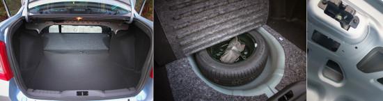 багажное отделение Datsun on-DO