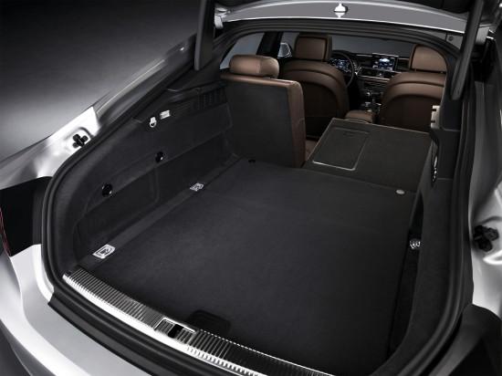 багажный отсек Audi A7 Sportback