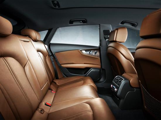 в салоне Audi A7 Sportback