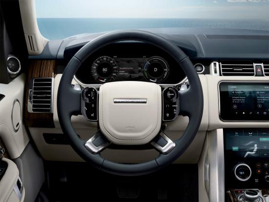 передняя панель Range Rover (L405) LWB