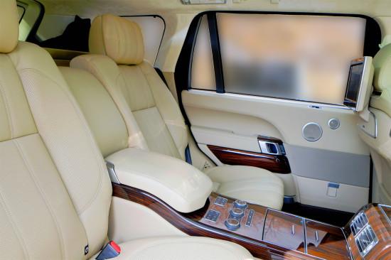 интерьер салона Range Rover (L405) LWB