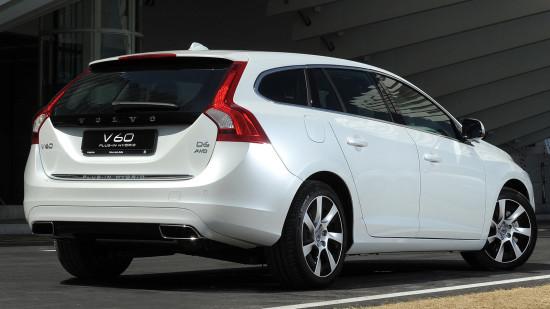 Volvo V60 Plug-in Hybrid первого поколения