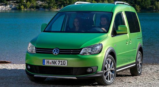 Volkswagen Cross Caddy на IronHorse.ru ©