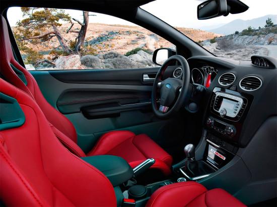 интерьер Ford Focus RS 500
